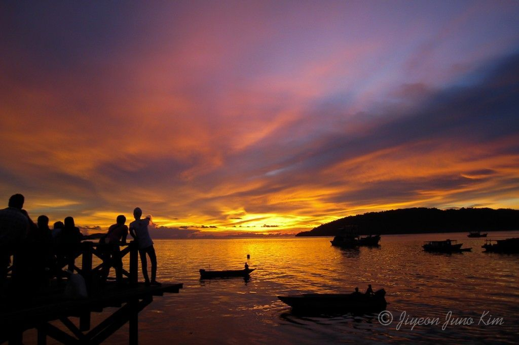 Kota Kinabalu Malaysia Sunset