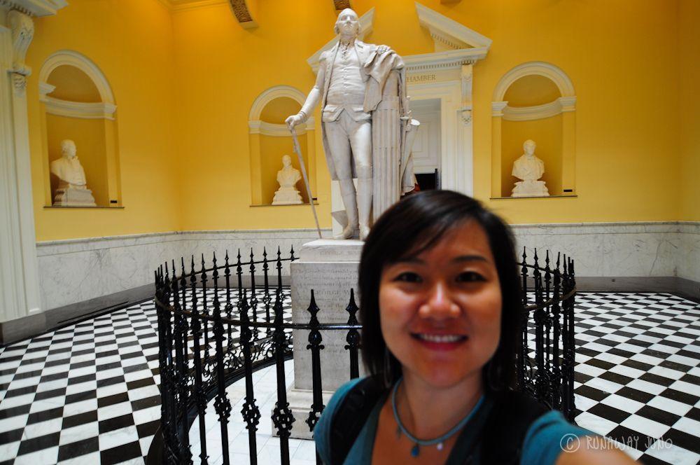 George_Washington_Statue_Richmond_Virginia_State_House_USA