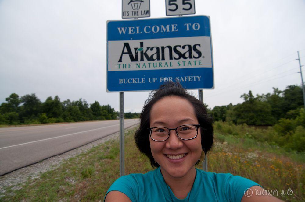 Arkansas State Sign