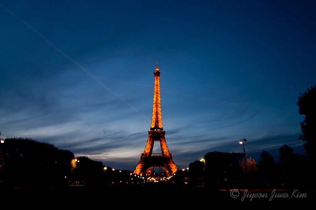The Eiffel Tower of Paris