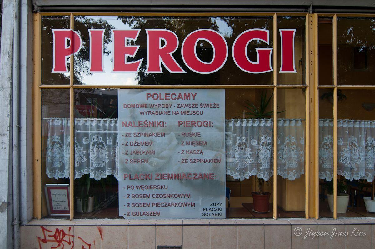 Pierogi in Poland