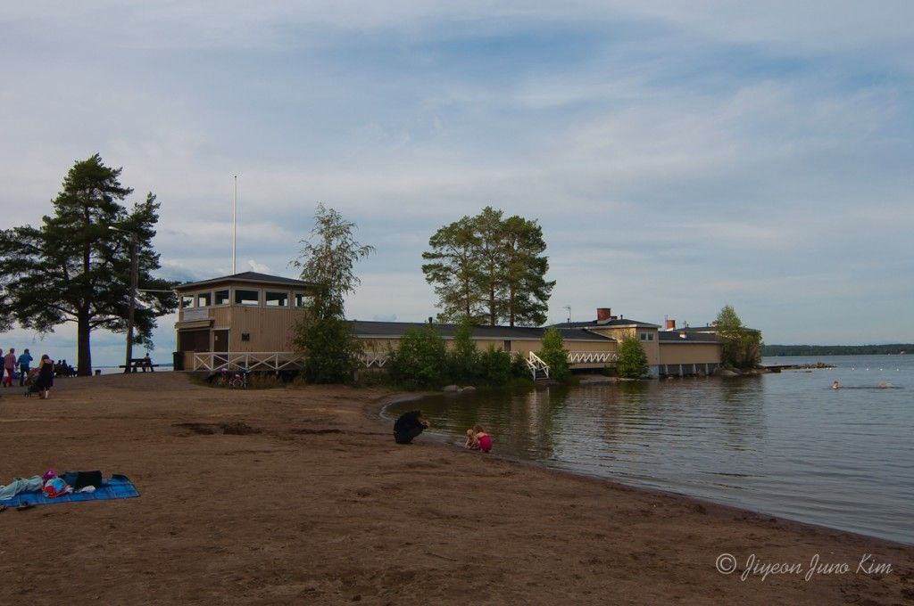 Sauna Finland tampere Rauhaniemi