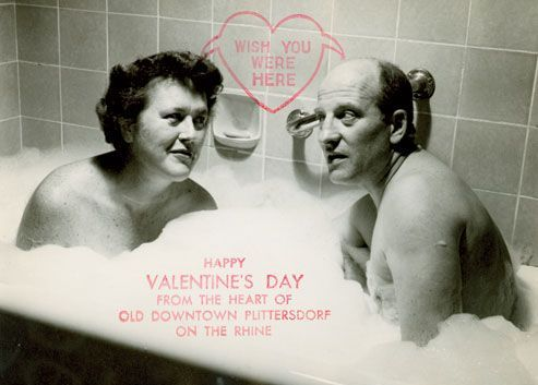 Julia Child Valentine's Day Card