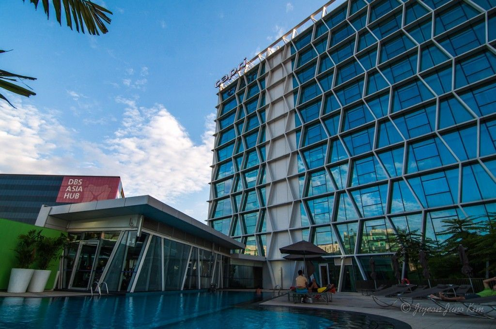 Ourdoor pool of Capri by Fraser @ Changi City