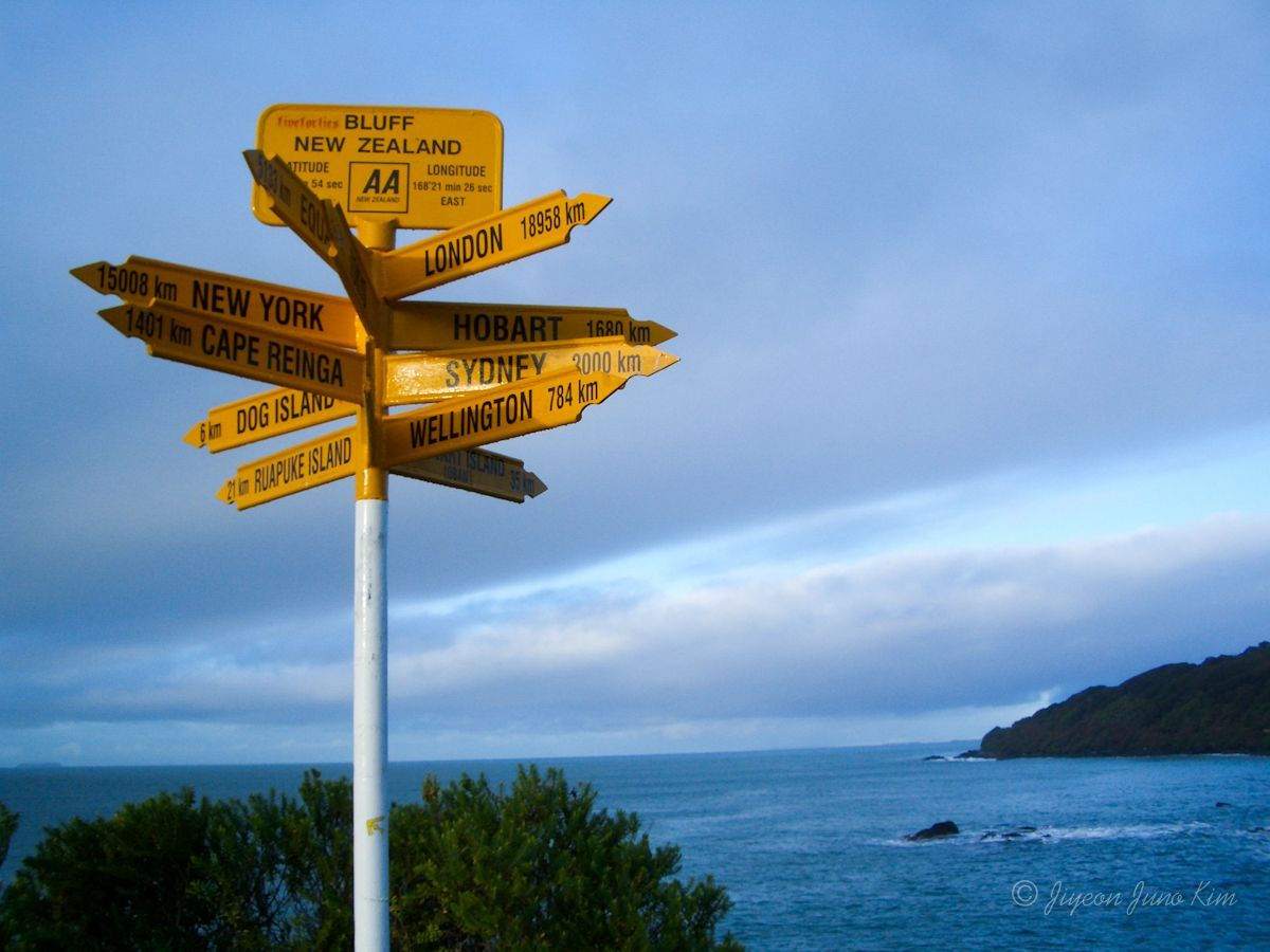 Stirling Point at Bluff