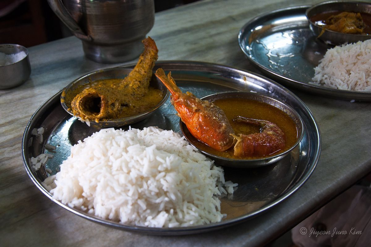 Bengali food in Kolkata, India