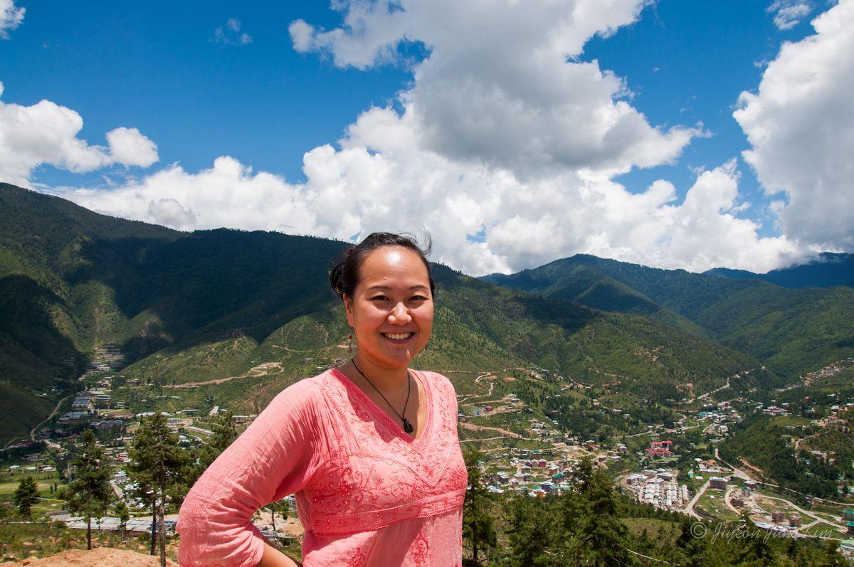 Overlooking Thimphu, Bhutan