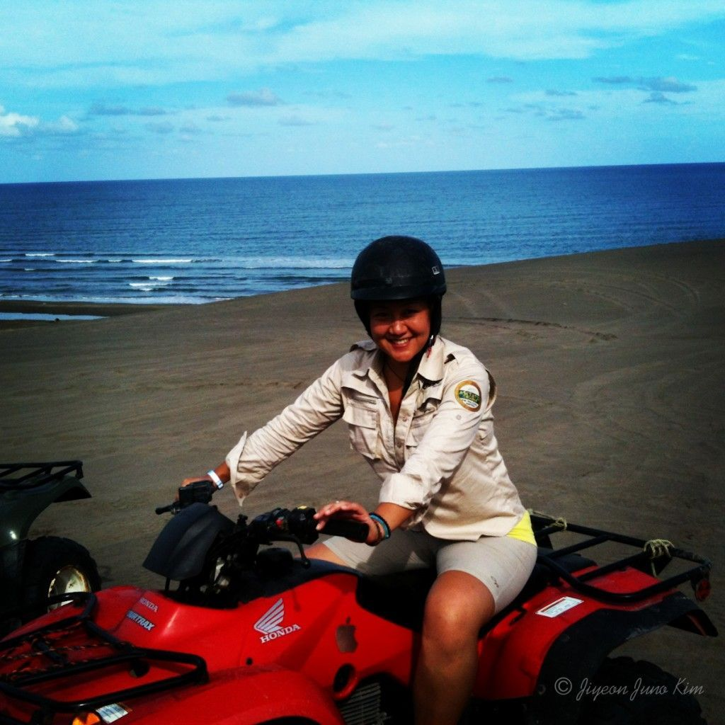 (Pretending to drive) ATV in Chachalacas