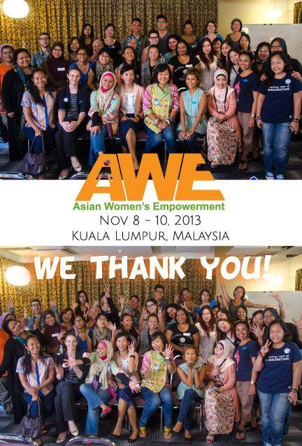 AWE '13 Thank You All!
