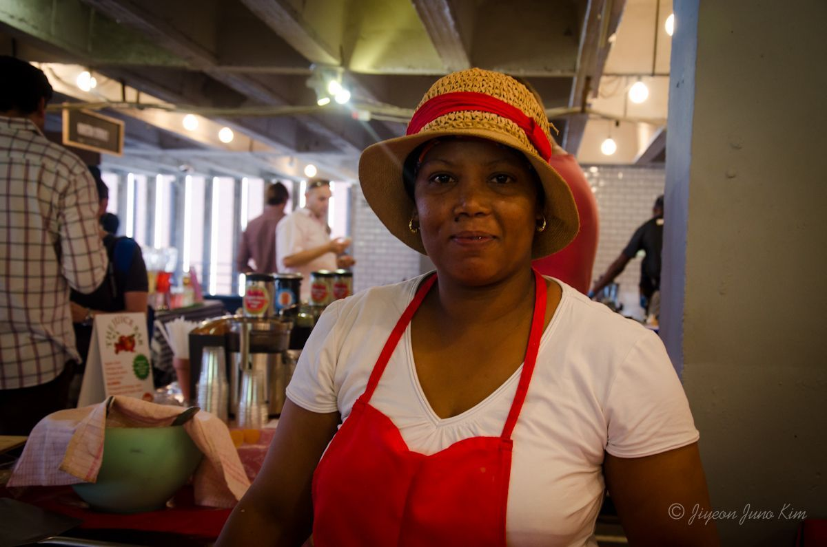 """Welcome to Johannesburg """"Let me wear my hat first"""", she said when I asked to take a photo of her"""