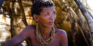 San People of Namibia, Africa