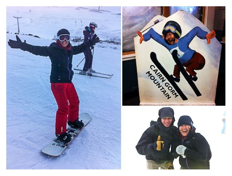 snowboarding Cairngorm Scotland