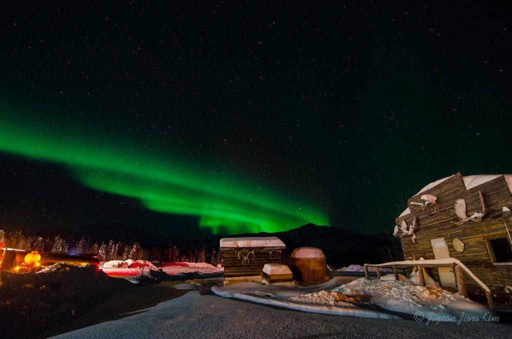 Northern Lights seen at Coldfoot Camp, Alaska