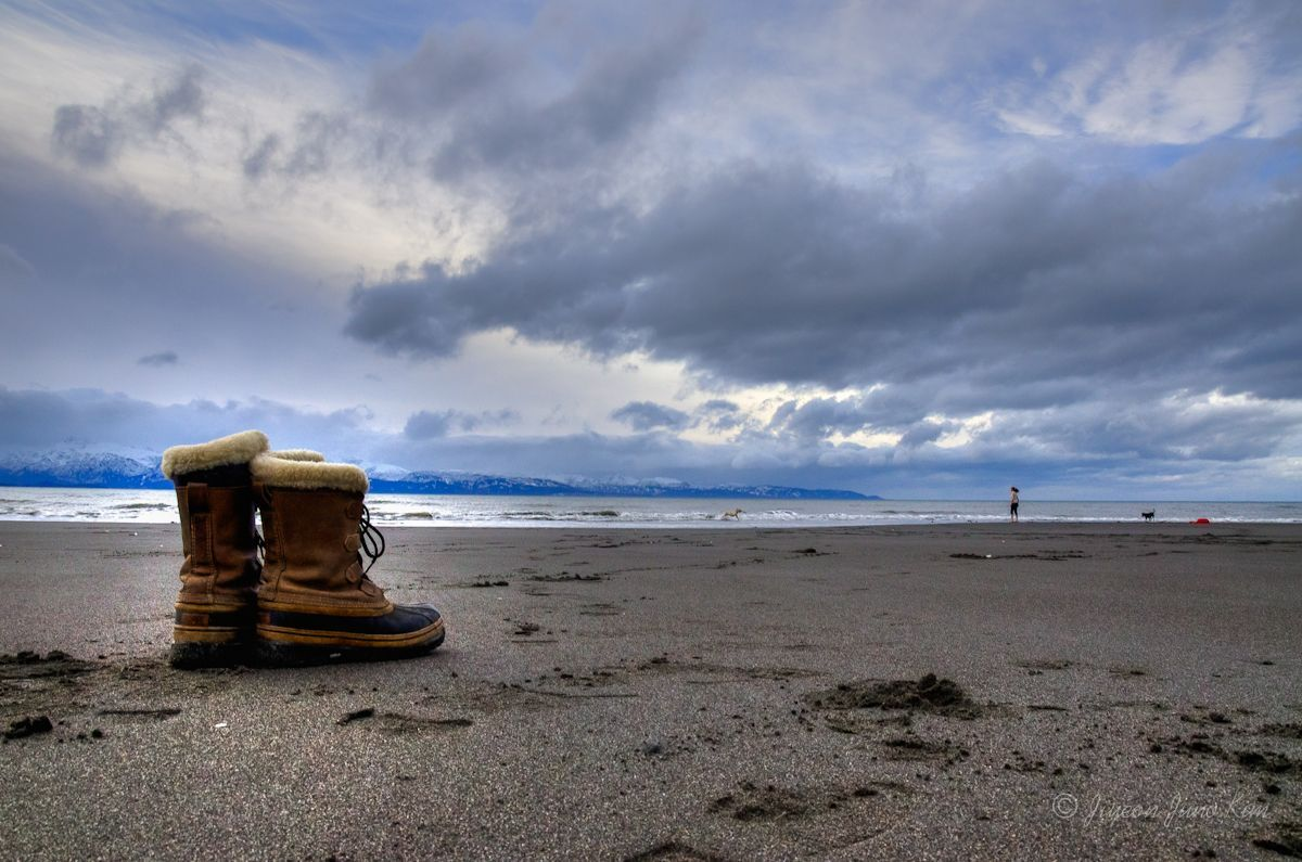 Bishop's Beach in Homer, Alaska