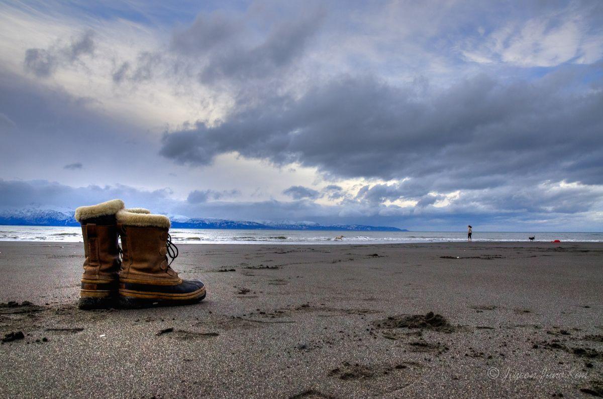 Bishop's Beach in Homer, Alaska