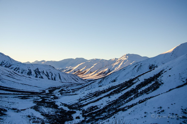 Atigun Pass and the Brooks Range