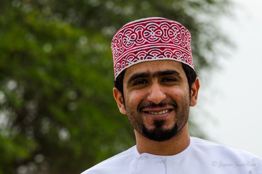 Omani man at Old Oman