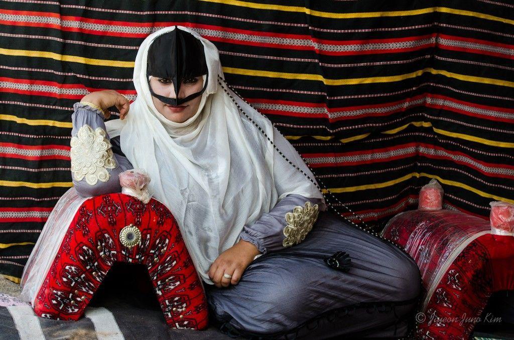 Beduin Women in Wahiba Sands of Oman