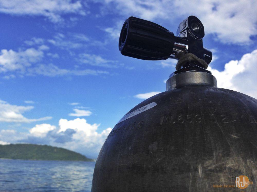 Diving in Tunku Abdul Rahman Park Kota Kinabalu