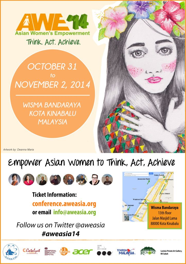 AWE '14 official poster
