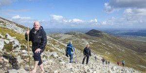 Hiking Craogh Patrick