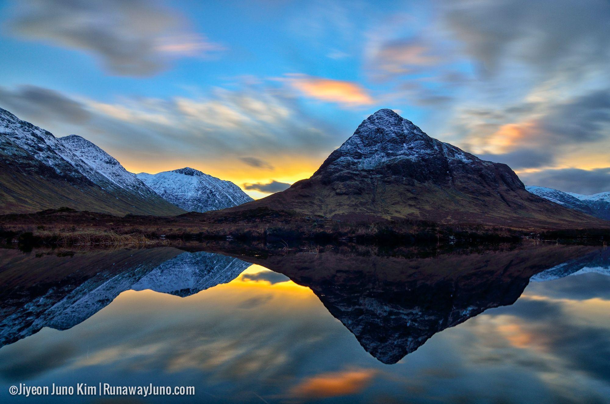 This is Glen Coe, Scotland