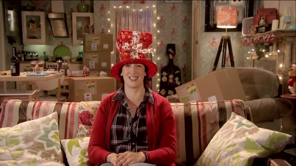 Miranda knows how to celebrate Christmas