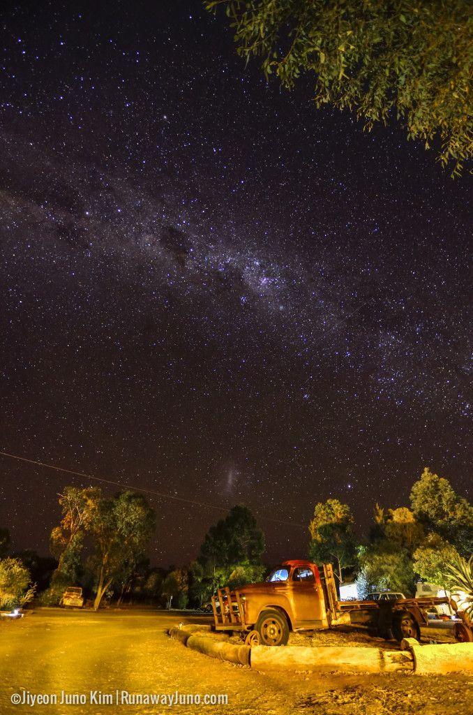 Charleville's night sky