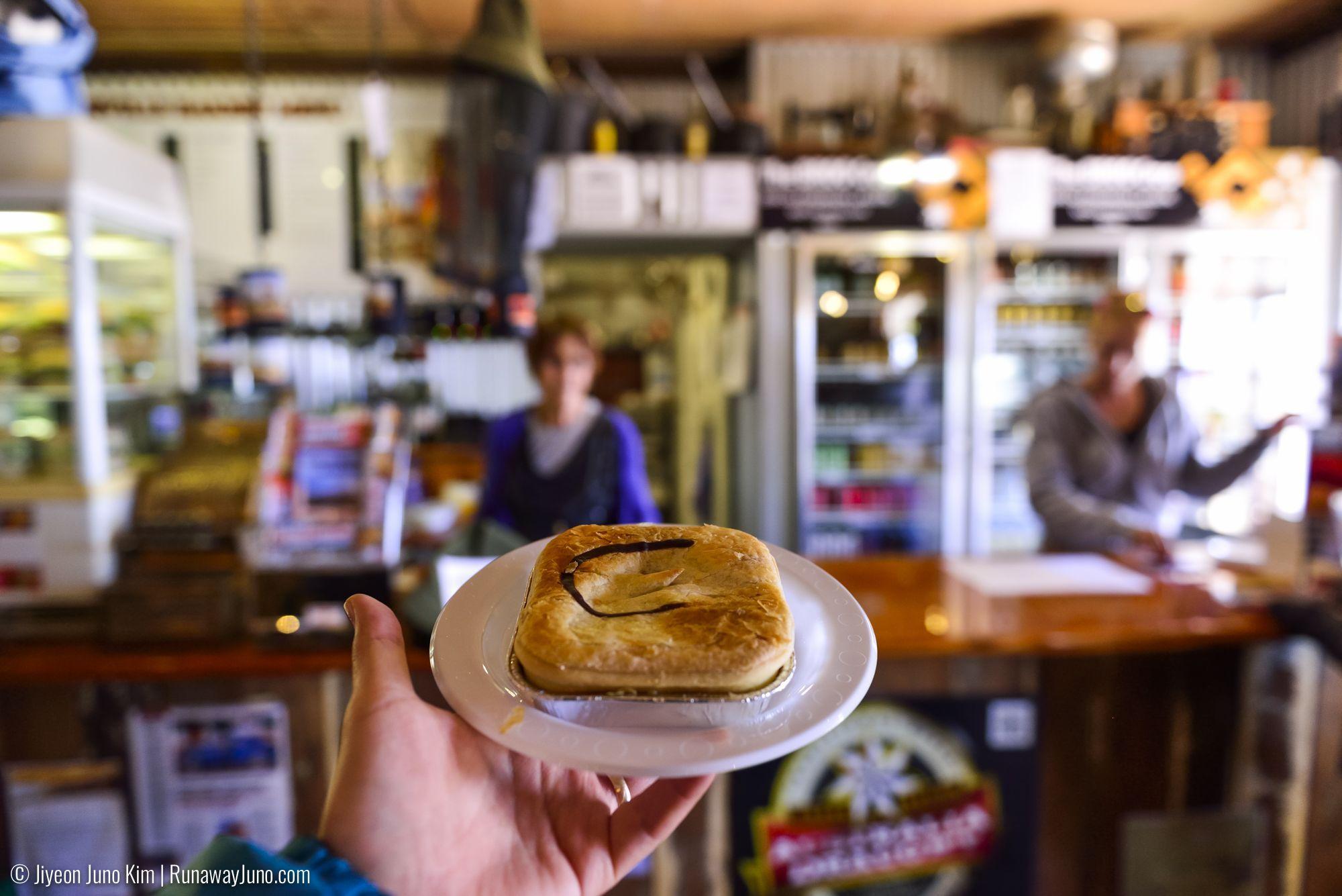 Birdsville bakery: Curried camel pie