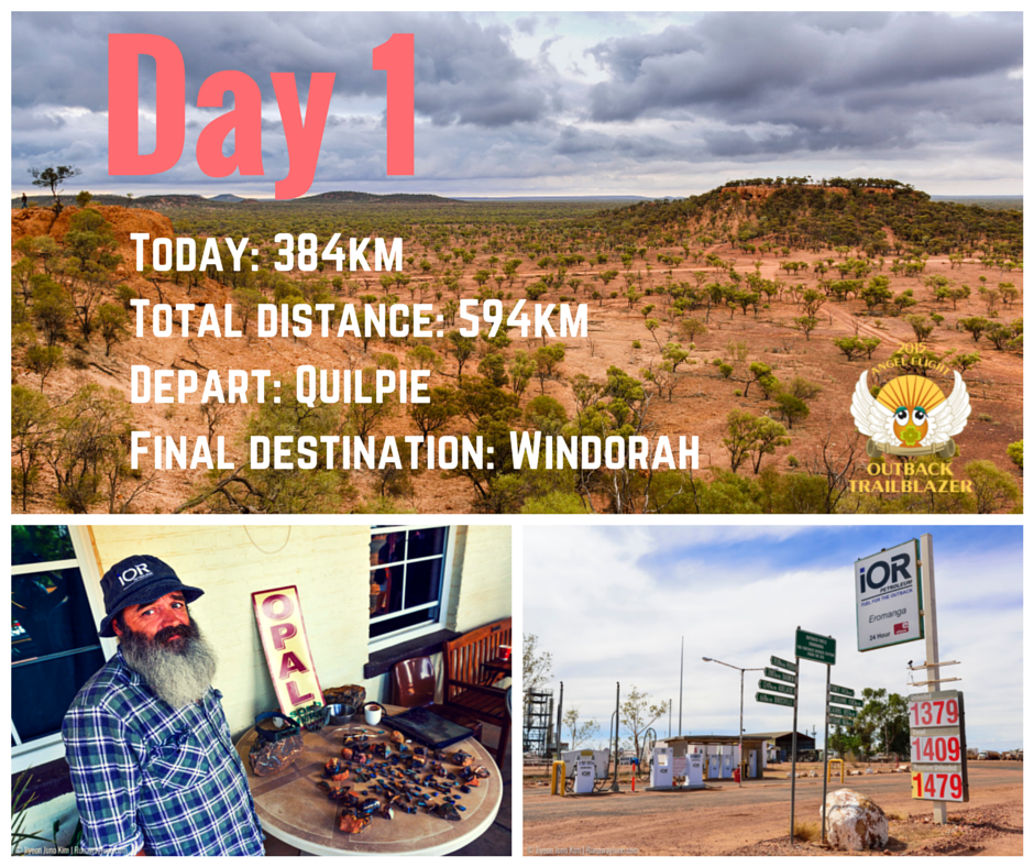 outback trailblazer day1