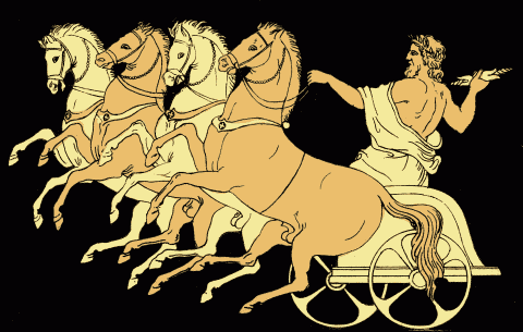 The Chariot of Zeus - Project Gutenberg eText 14994.png from the 1879 Stories from the Greek Tragedians by Alfred Church