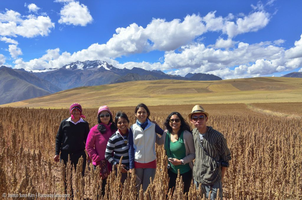 Life is even better with the right kind of people - traveled Peru with this wonderful friends