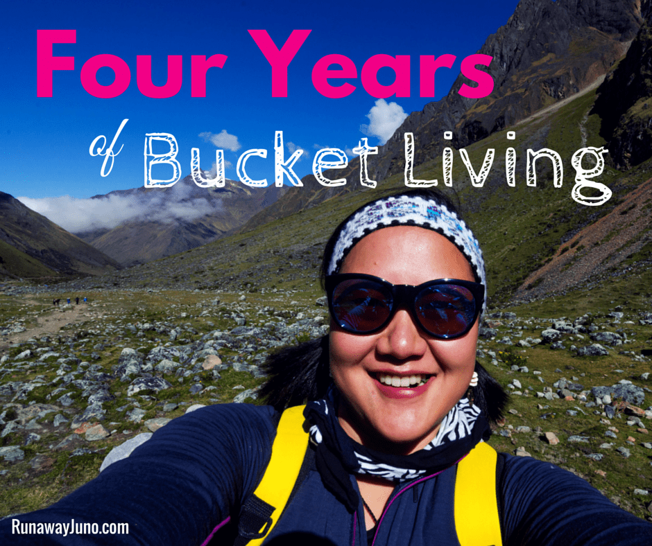 Four years of Bucket Living