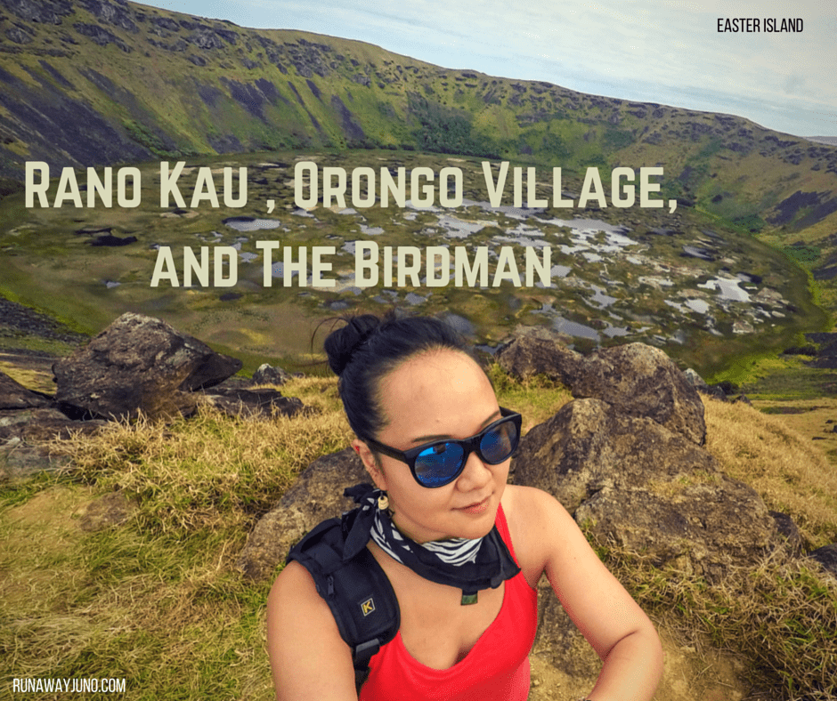 Rano Kau Hike, Orongo Village, and The Birdman