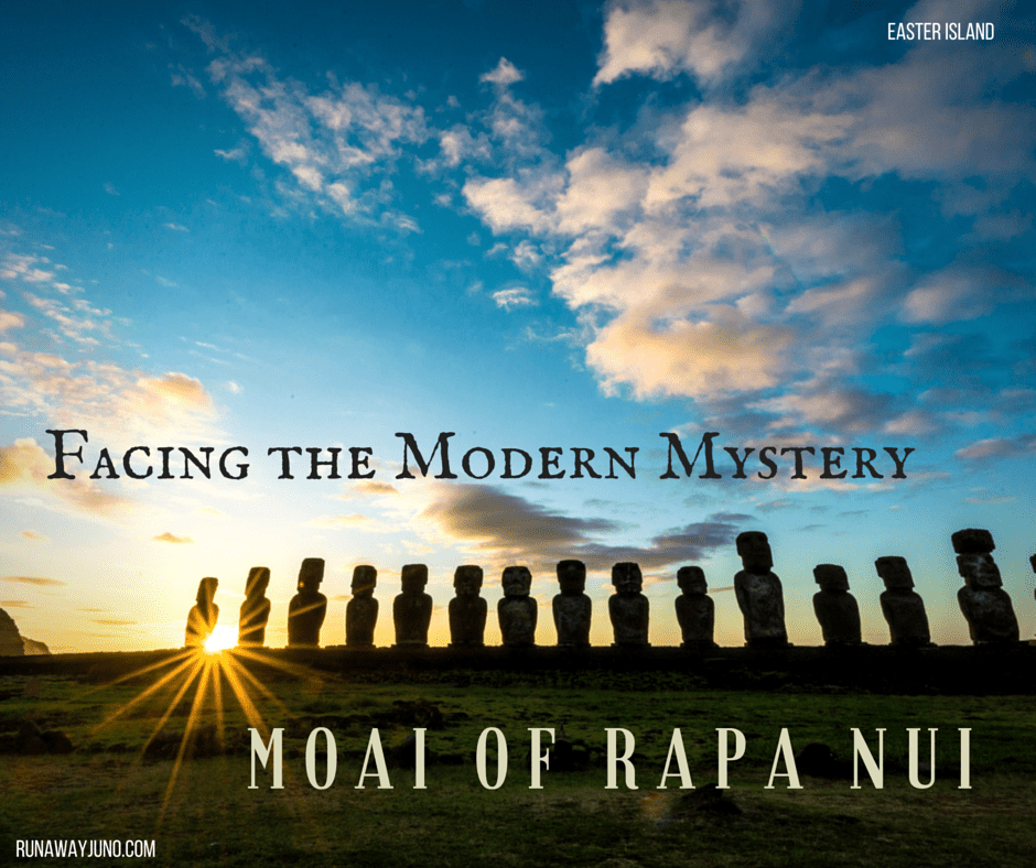 Facing the Modern Mystery Rapa Nui Moai