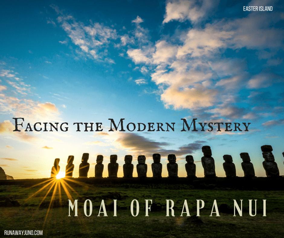 Facing the Modern Mystery Rapa Nui Moai