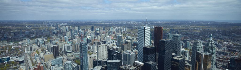 The view from CN Tower