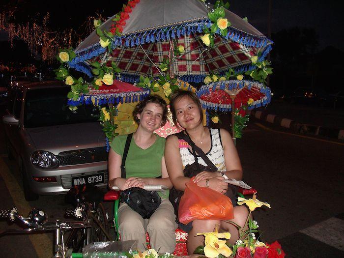 with Jenny in Malacca, Malaysia