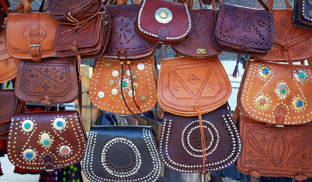 Leather goods from Argentina